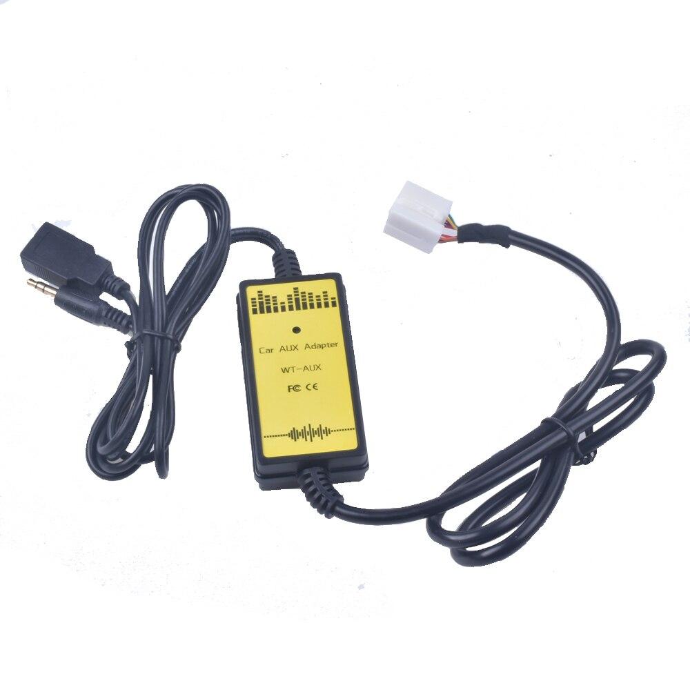 Changeur de CD USB pour Honda Civic   Adaptateur USB MP3, Interface Audio SD AUX, pour Acura CSX RDX TSX MDX