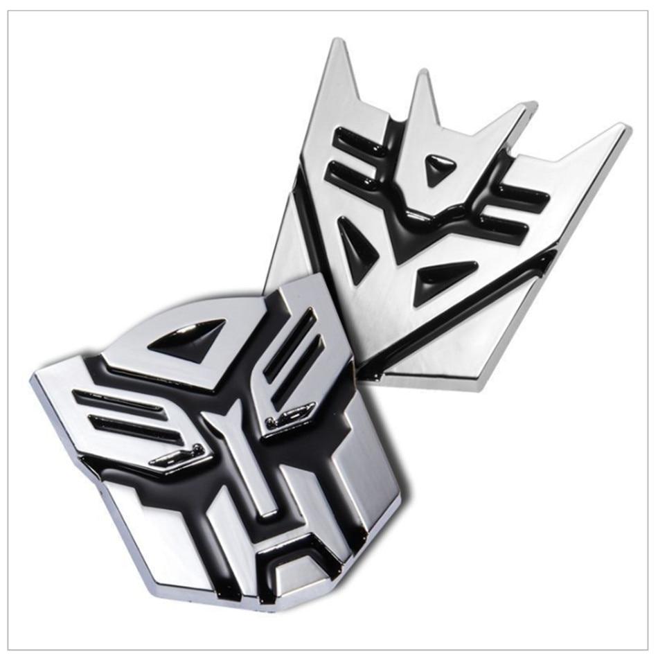 Transformers metal sticker for  lada niva kalina priora granta largus vaz samara 2110  Car-Styling sticker Accessories