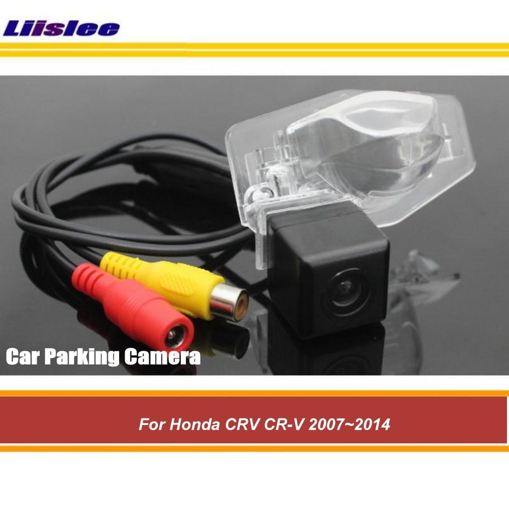Автомобильная парковочная камера заднего вида для Honda CR-V 2007-2013 2014, Автомобильная камера заднего вида HD SONY CCD III