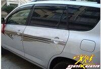 Side Body Line Door Molding Decal Sticker Paper Trim For Toyota RAV4 RAV 4 06-12 2006 2007 2008 2009 2010 2011