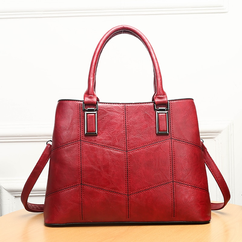 Luxury Brand Women Handbags Sets Large Capacity Women Bags High Quality Leather Shoulder Crossbody Bags for Women bolsa feminina