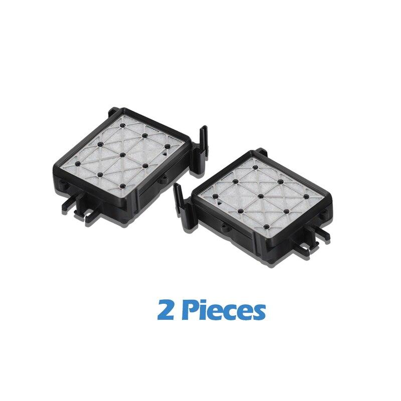 2 uds XiongCai, estación de tapas compatible para impresoras Epson stylus pro 4800 4880 4450 4000, 4400, cabezal de impresión, estación de tapas