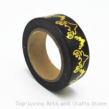 Lámina de patrón de ciervo Washi Tape Set de papelería japonesa Scrapbooking cintas decorativas cinta adhesiva Kawai calidad