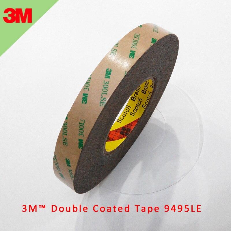 1 Uds 3M 300LSE 9495LE adhesivo con revestimiento doble cinta impermeable transparente para peluca de pantalla LCD 0,17mm