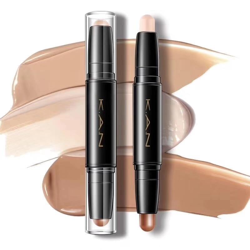 K.A.N marca resaltador para mujeres cara contorneado Corrector bronceadores marcadores pluma cosmética 3D maquillaje Corrector Barra de contorno
