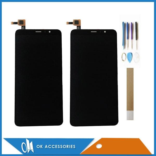 Pantalla LCD de 5,99 pulgadas para Hisense Infinity H11 Lite F24 con pantalla táctil de cristal digitalizador negro blanco con cinta de herramientas