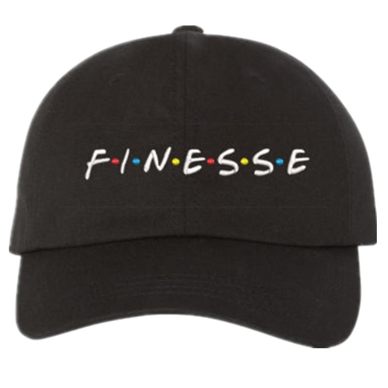 2017 Nuevo sombrero de FINESSE (hebilla deslizante) estilo de moda vintage arte papá cap estaciones gorras meme hombre mujeres gorra de béisbol