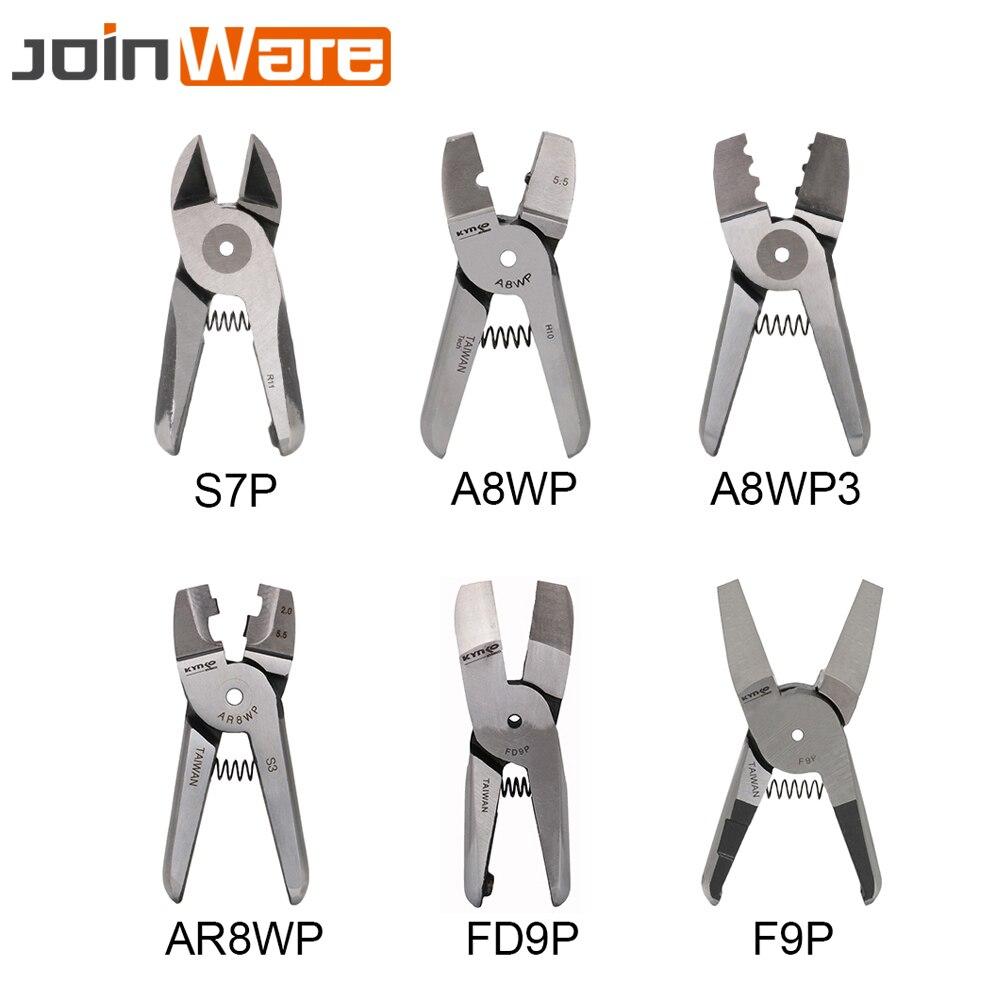 Tesoura de ar tesouras cortador cabeça nipper pneumática friso alicate ferramenta parte para o terminal ar8wp a8wp3 a8wp HS-30 corpo 1 pc