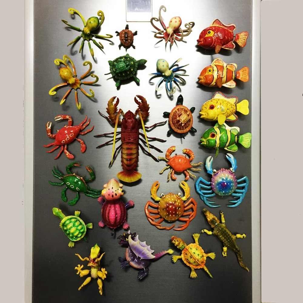 Babelemi 1 Stücke Nette Malediven Meer Tiere Kühlschrank Magneten Lobster Crab Clownfish Schildkröte Kühlschrank Aufkleber Travel Souvenirs Kühlschrank Magnete Aliexpress