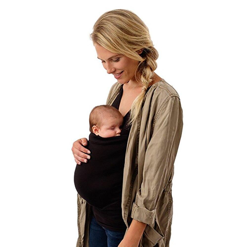 Portador de bebê tanque topos multifuncional canguru gravidez t camisa sem mangas roupas para grávidas plus size 4xl