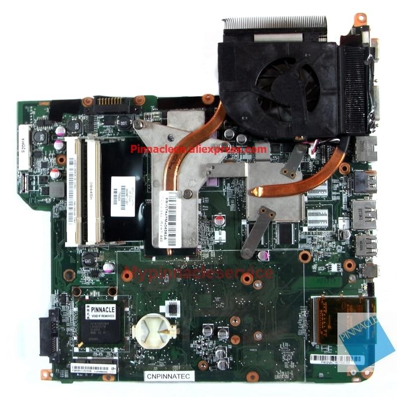 482867-001 مع اللوحة الأم لوحدة المعالجة المركزية لشرائح HP DV5 PM45 بدلاً من 482324-001 502638-001