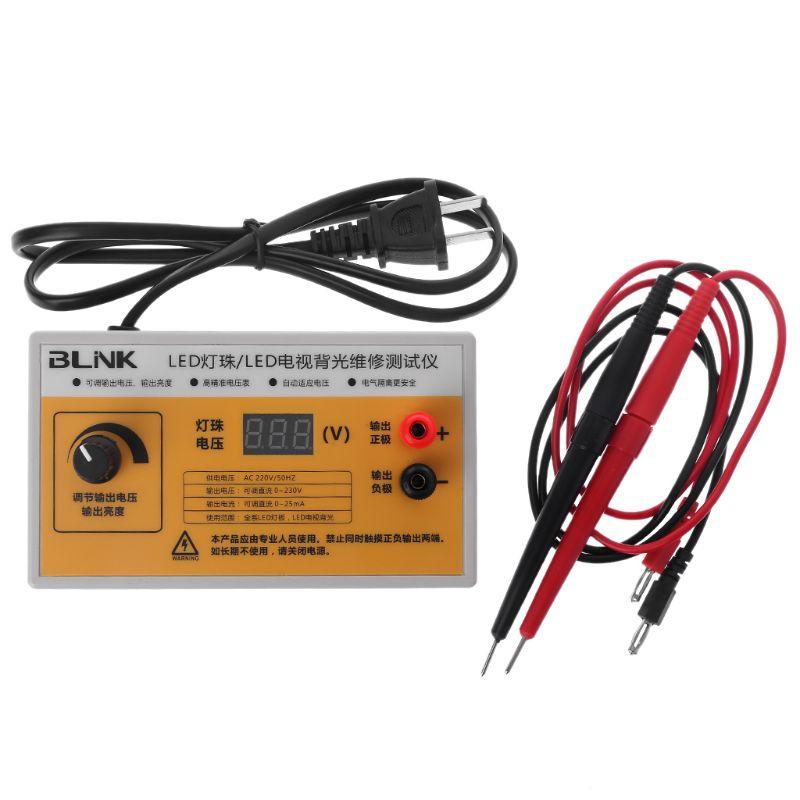 AC 220V LED TV Hintergrundbeleuchtung Tester LED Streifen Bildschirm BackLit Test w Spannung Display DEC05