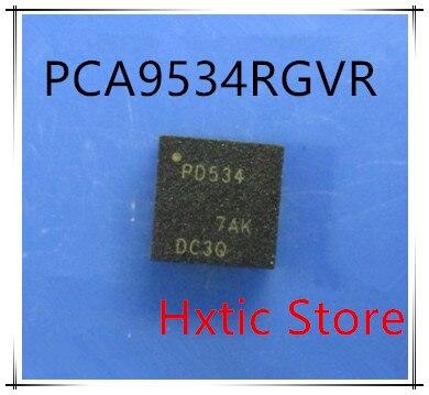 Nuevo 10 unids/lote PCA9534RGVR PCA9534 marcado PD534 QFN-16