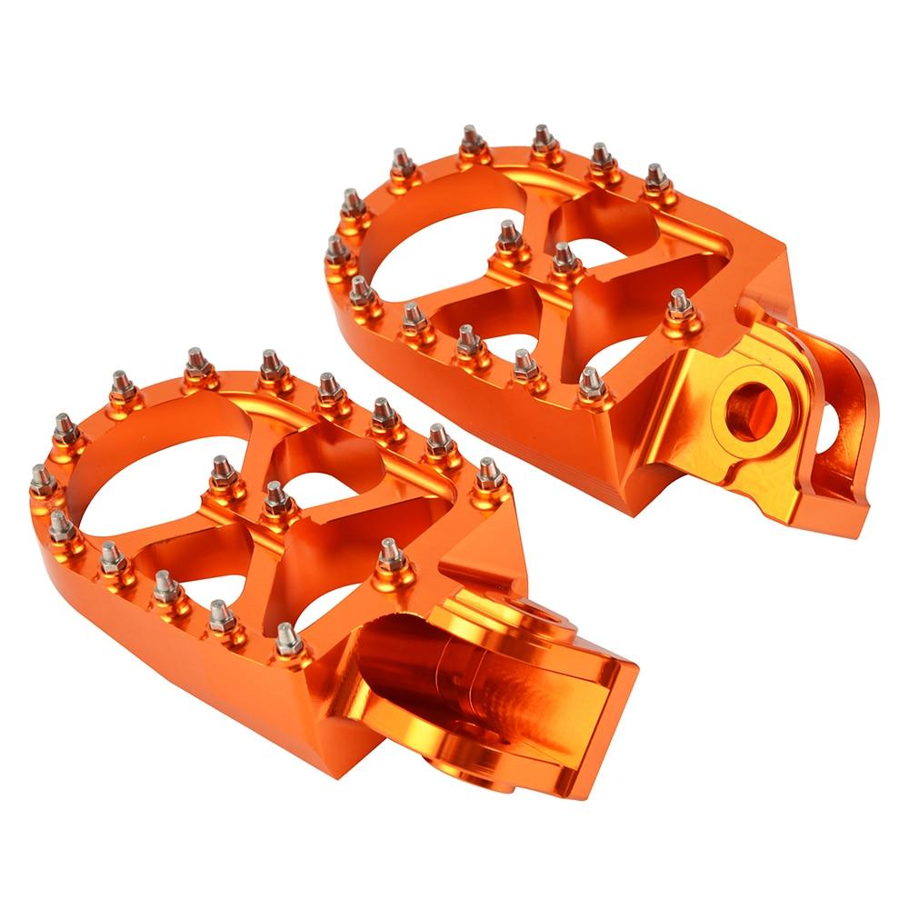 NICECNC 57mm Footpegs Footrest Foot Peg Rest For KTM 690 Enduro SMC SMR 950 990 1050 190 1190 1290 Super Adventure R S T Moto