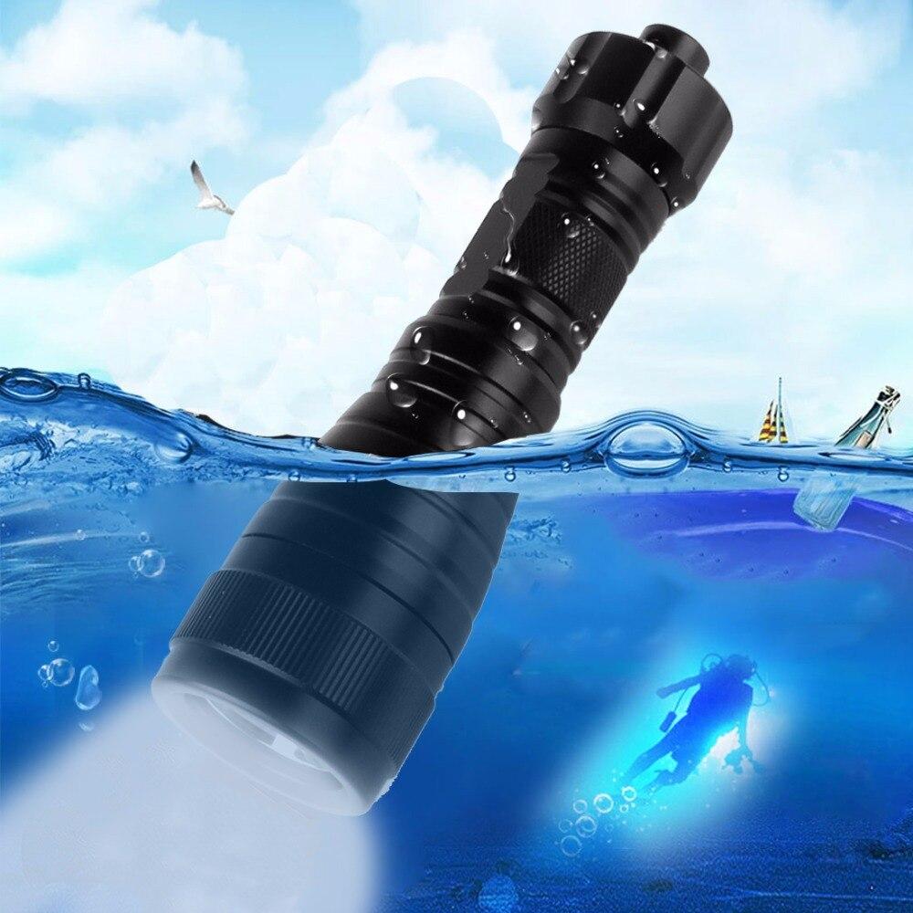 Brinyte Водонепроницаемый светодиодный фонарик для дайвинга высокой мощности для подводной съемки 150 м 1050Lm XM-L2 (U4) ручной фонарь для кемпинга/пешего туризма