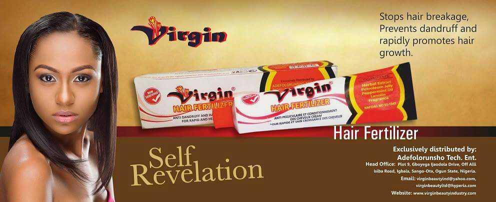 Virgin Hair Fertilizer hair growth cream 125g