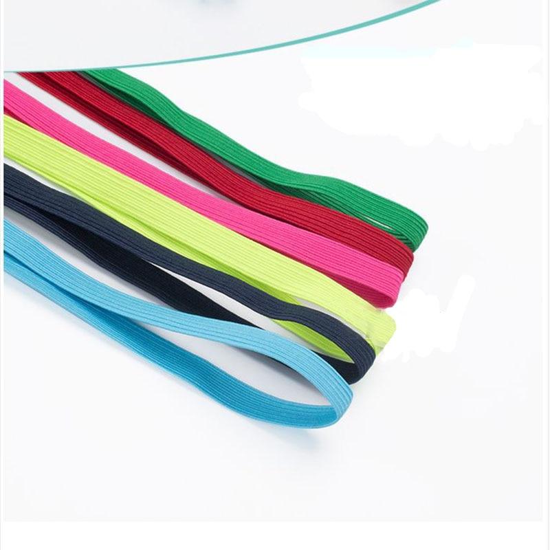 0.9cm  wide  6 m per piece Color underwear collar bag elastic belt elastic belt rubber accessories rubber