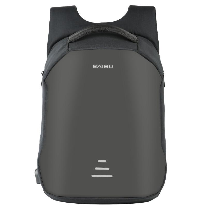 Многофункциональный USB зарядный мужской рюкзак для ноутбука для подростка, модный мужской рюкзак Mochila для путешествий, рюкзак с защитой от в...