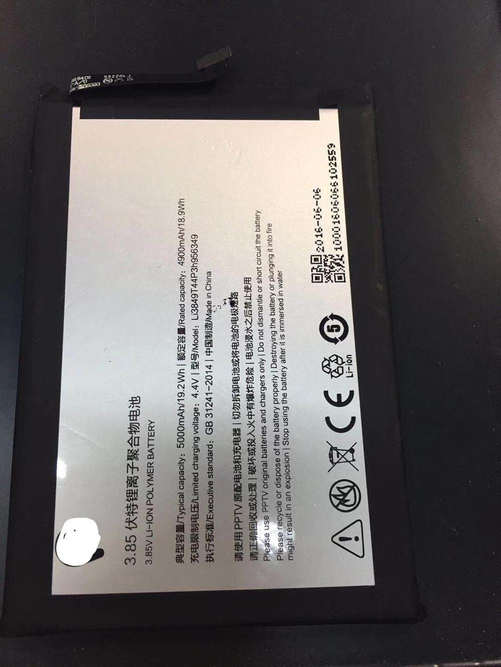FOR ZTE nubia N1 NX541J Li3849T44P6h956349 battery Rechargeable Li-ion Built-in lithium polymer battery enlarge