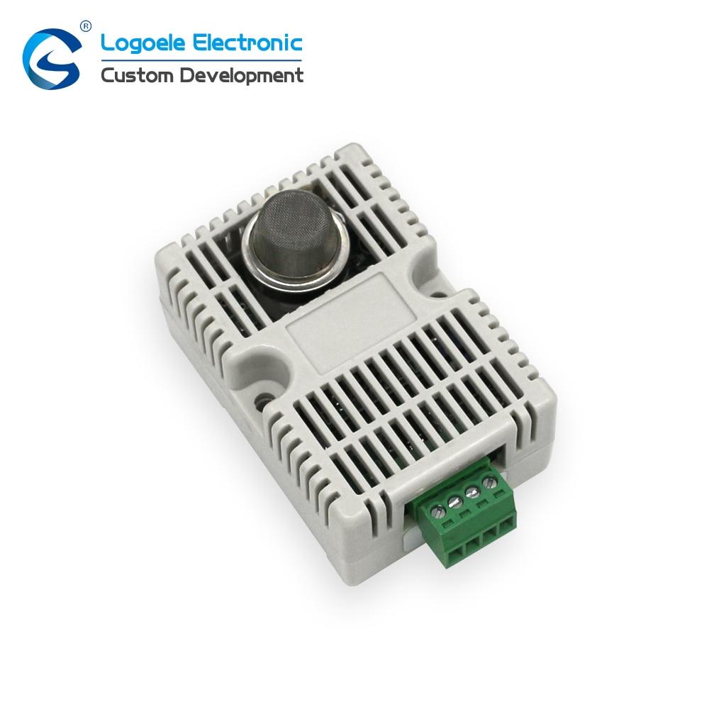 High quality MQ4 combustible gas detection sensor module, intelligent fire band shell MQ-4 gas sensor free shipping