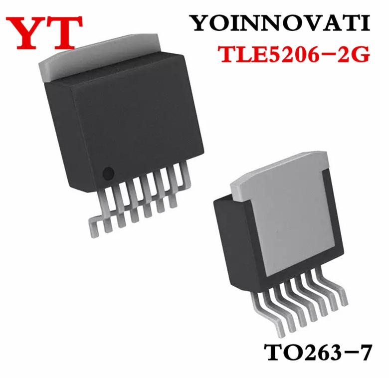 20 unids/lote TLE5206-2G 5206-2G TLE5206-2 TLE5206 conductor PAR TO263 mejor calidad