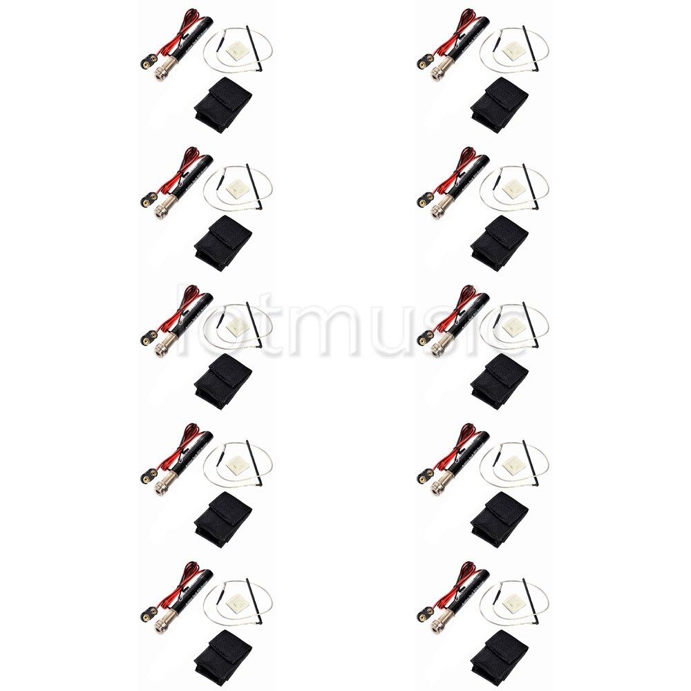 10 шт. набор для звукоснимателя для акустической гитары эквалайзера активных звукоснимателей