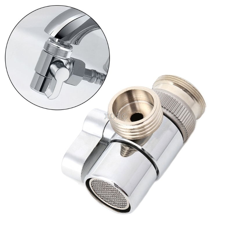 Ванная комната Кухня латунь Раковина клапан переключателя кран сплиттер для шланга адаптер M22 X M24 M03 Прямая поставка
