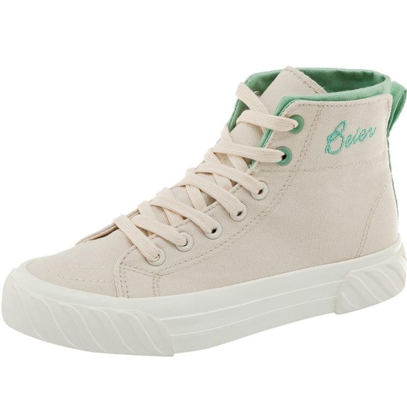 2019 nueva moda de verano zapatos planos de chica zapatos casuales zapatos de lona de Mujer Zapatos de encaje de alta calidad para niñas estudiantes zapatos N2-81