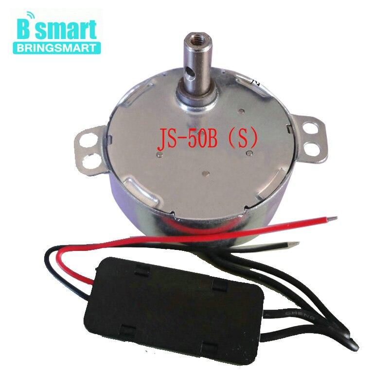 Bringsmart 9V 12V 24V Motor BLDC DC Mini Motor 5V 6V Motor sincrónico de larga duración para soporte de pantalla, electrodomésticos, etc. JS-50B (S)