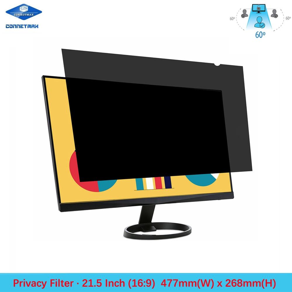 21.5 inch Privacy Filter Screen Protector Film for Widescreen Desktop Monitors 16:9 Ratio
