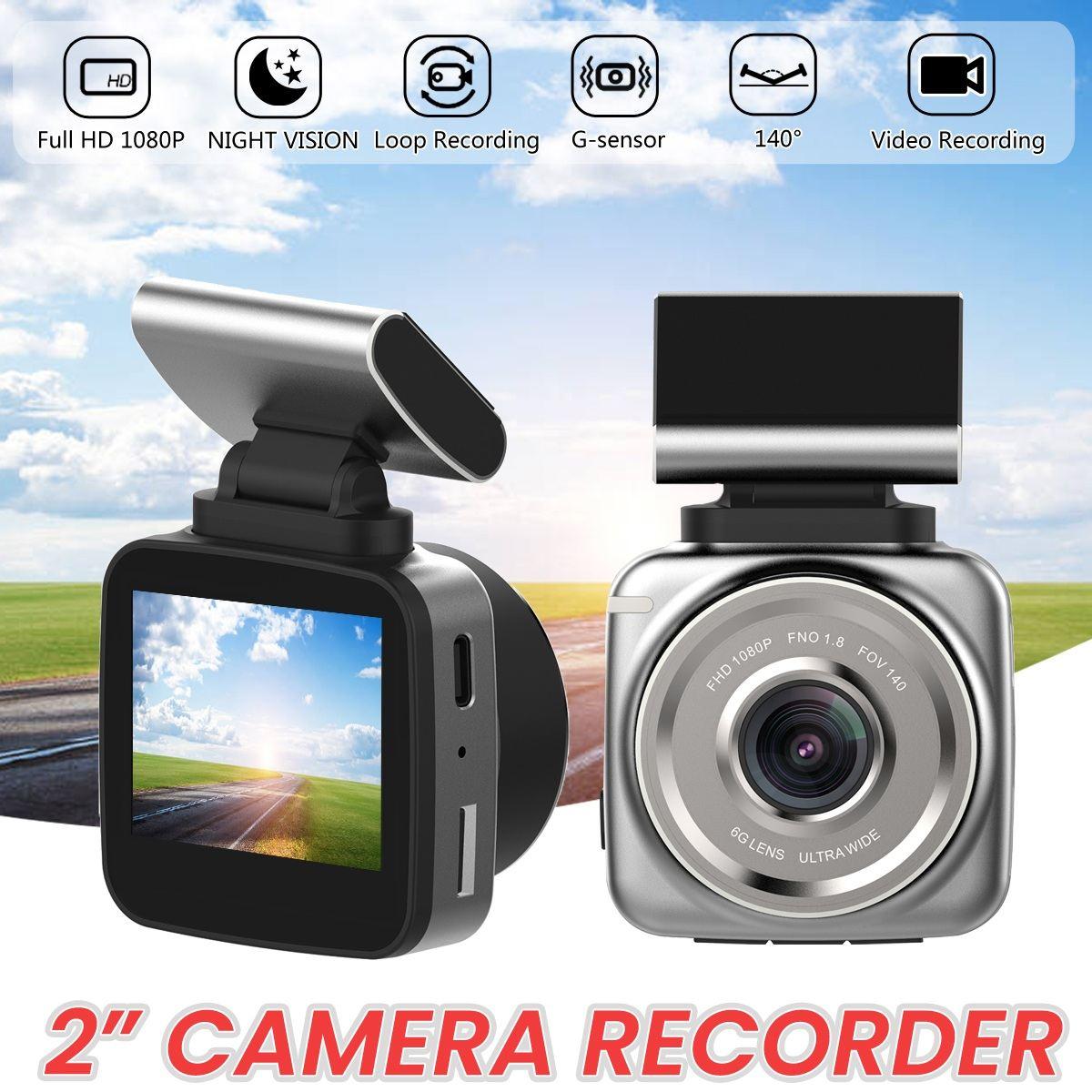 Anytek Q2 más nueva para coche DVR Radar Detector FHD 1080P Video Recorder Cam ADAS LDWS extraíble soporte magnético