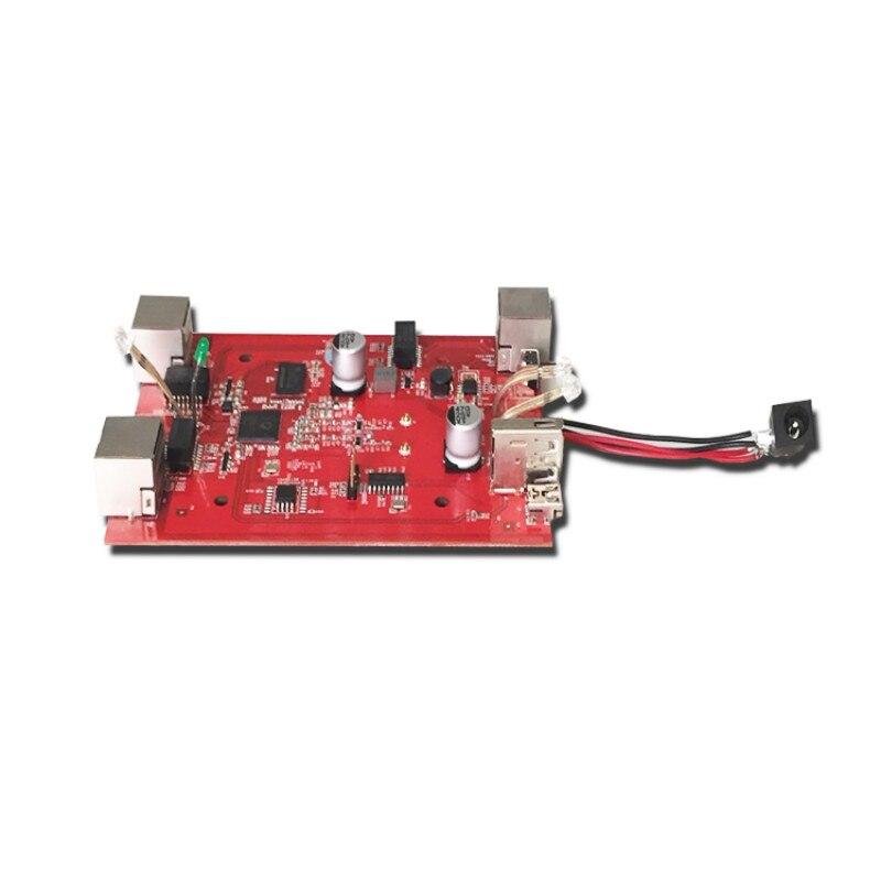 Placa de enrutador inalámbrico ODM/OEM PCBA, Atheros AR9341, QCA9531, QCA9561, enrutador QCA9563