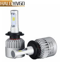 1Pair H7 LED Car Headlight Bulb 8000LM CSP 72W All in One Car LED Headlights Fog Light Bulbs Auto Lamps Conversion Kit 6500K 12V