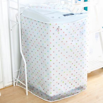 Waterproof sunscreen washing machine cover transparent printing automatic washing machine bellows single cylinder type impeller enlarge