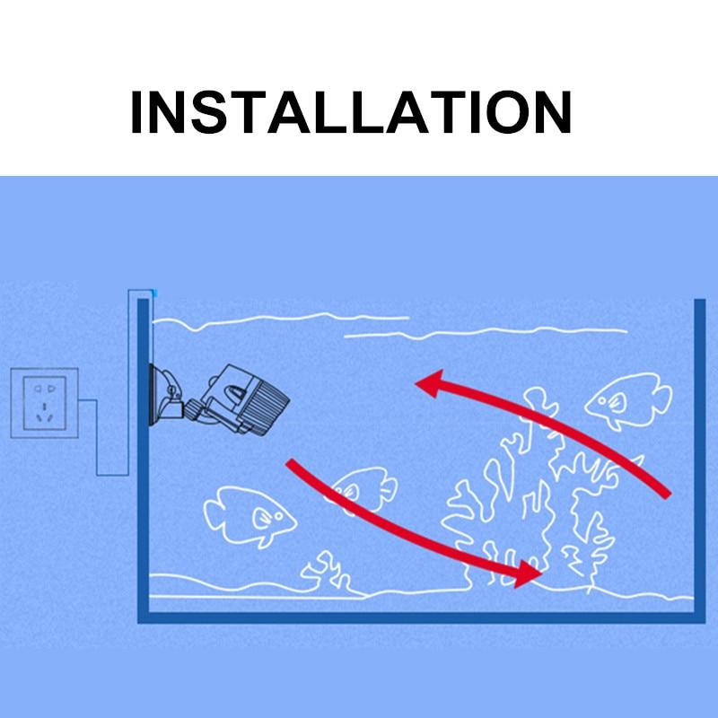 Sobo Aquarium Wave Maker 3w 10w 15w 25w Suction Cup Base Submersible Circulation Wave Maker Pump Wavemaker For Aquarium Air Pumps Accessories Aliexpress