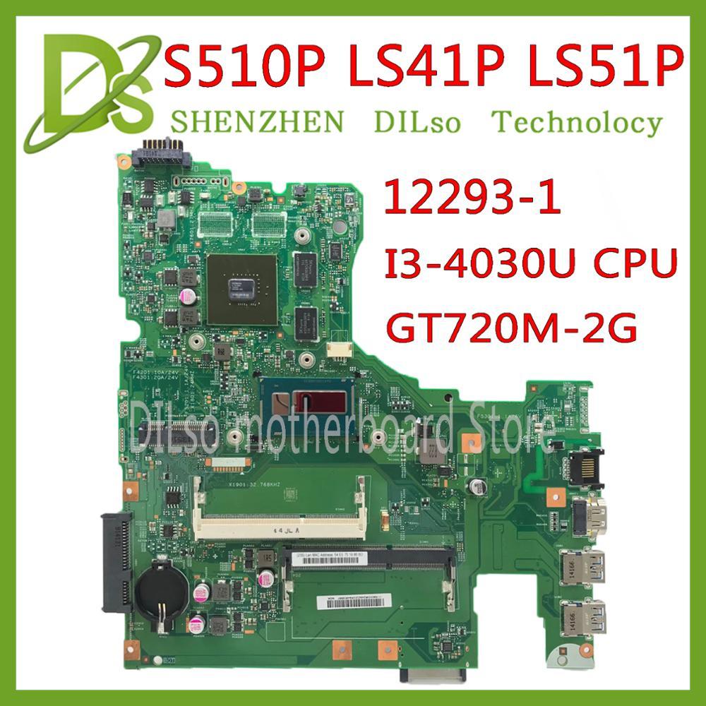 KEFU NM-A751 motherboard para Lenovo 310-15ISK 510-15ISK laptop motherboard Para I7-6500U 4 GB RAM GT920M-2GB Teste OK