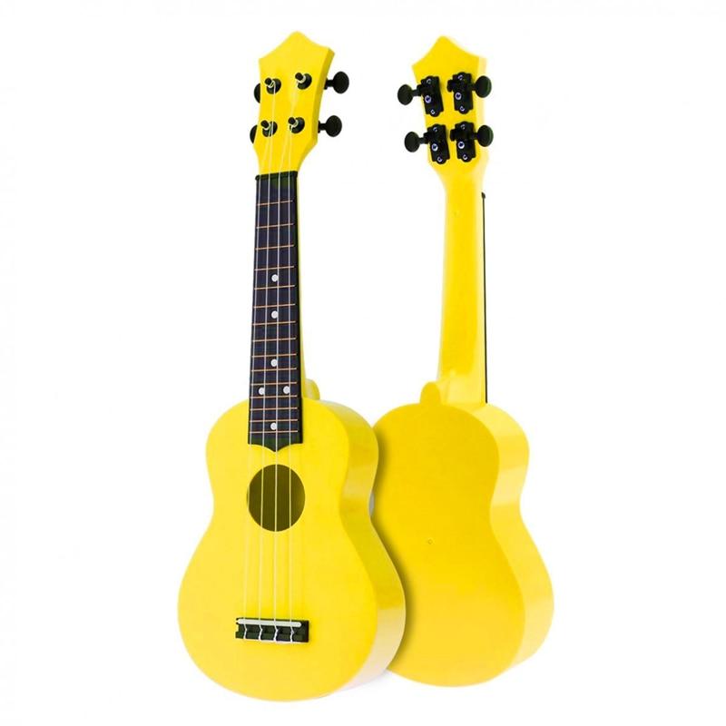 21 Inch Acoustic Ukulele Uke 4 Strings Hawaii Guitar Guitar Instrument for Kids and Music Beginner