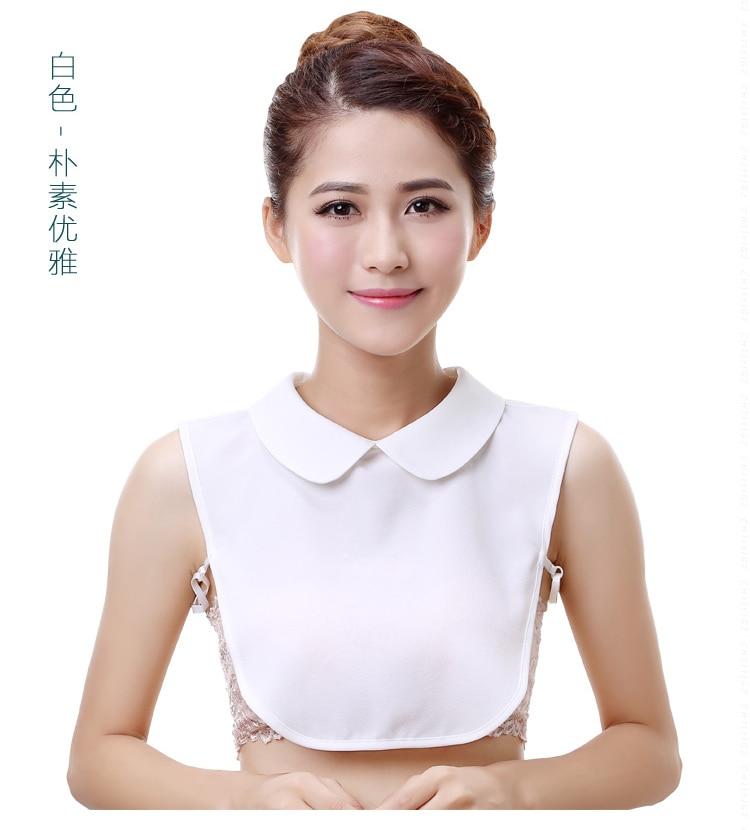 Korean kragen wilden shirt kragen weiß dekorative falschen frauen Hemd Ultra Oansatz Falschen Kragen Weiblichen Peter Pan Weiß kragen
