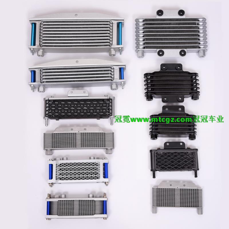 Radiador zongshen loncin yx 125cc 140cc 150cc klx crf dhz dirt pit bike radiador de motocicleta accesorios de enfriador de aceite envío gratis