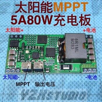 18V charging module for solar lithium lead acid battery BQ24650 MPPT 5A CN3722