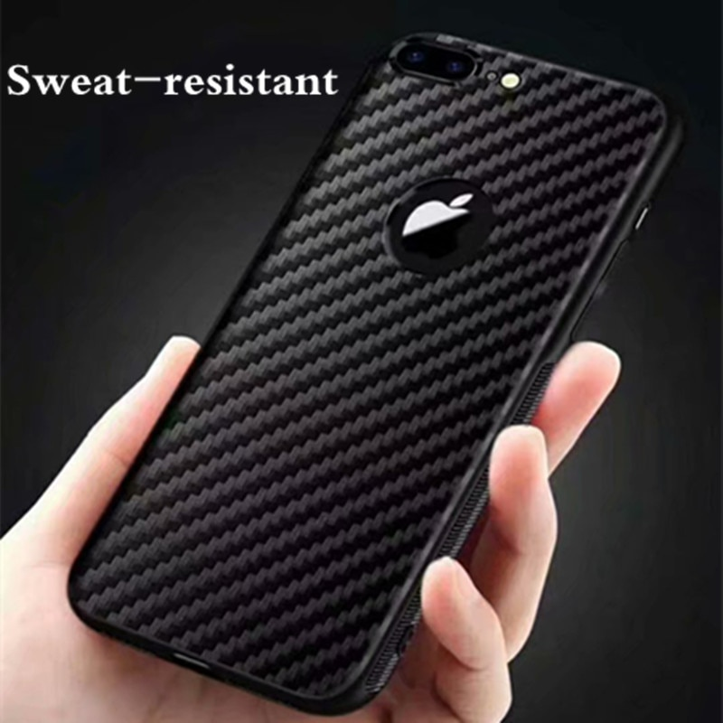 100 unids/lote de bolsas de teléfono de fibra de carbono suave TPU para Samsung Galaxy A10E A20E A2 Core A60 M40 funda trasera de teléfono