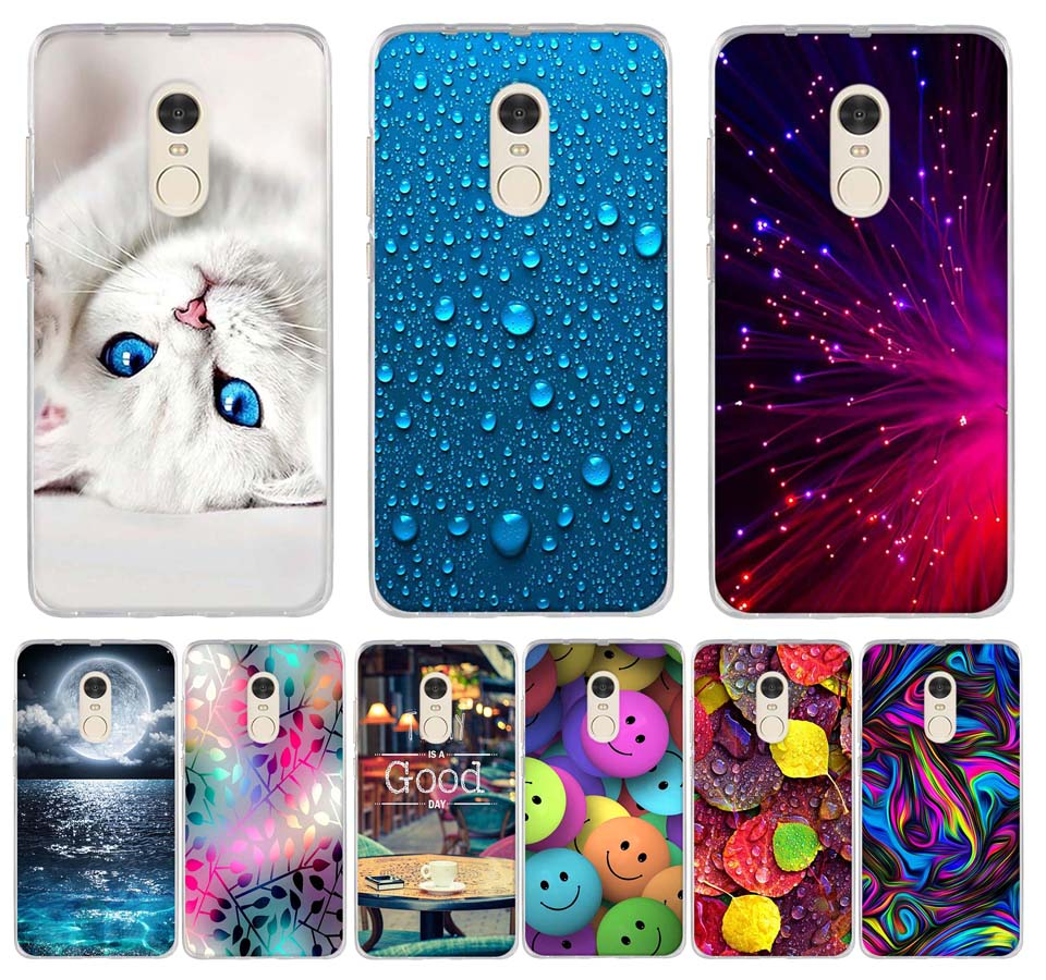For Fundas Xiaomi Redmi Note 4 4X Case Cute TPU Soft Phone Back Cover Silicone Case For Xiomi Redmi Note 4 X Coque Bumper Capas