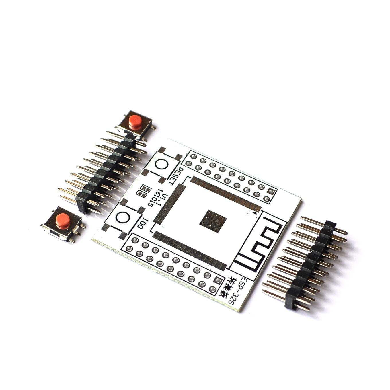 Convertidor de placa Base ESP32 ESP32S, adaptador IO con 4 pines de fila para ESP-32S, módulo WiFi Bluetooth inalámbrico