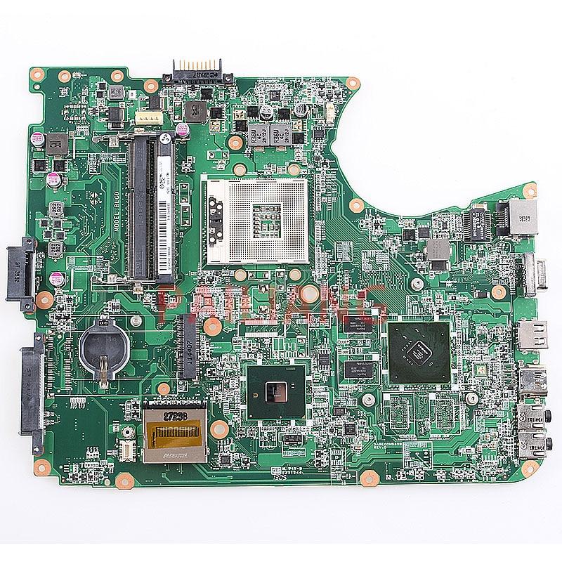 Laptop motherboard para Toshiba L650 L655 PC Mainboard DABLGDMB8D0 completa tesed DDR3