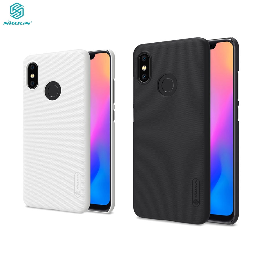 For Xiaomi Mi 8 Case Genuine Nillkin Case Gift Phone Holder High Quality Super Frosted Shield Hard P
