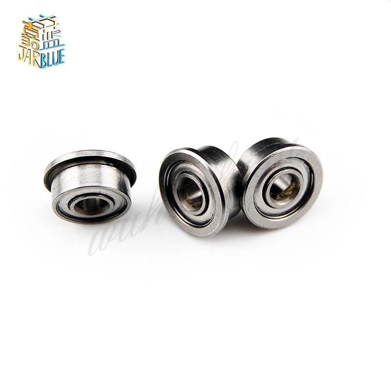 2pcs or 5pcs MF106ZZ MF106 F676 F676-ZZ F676ZZ F676-2Z F676Z zz z 2z Flange Deep Groove Ball Bearings 6 x 10 x 3mm High Quality
