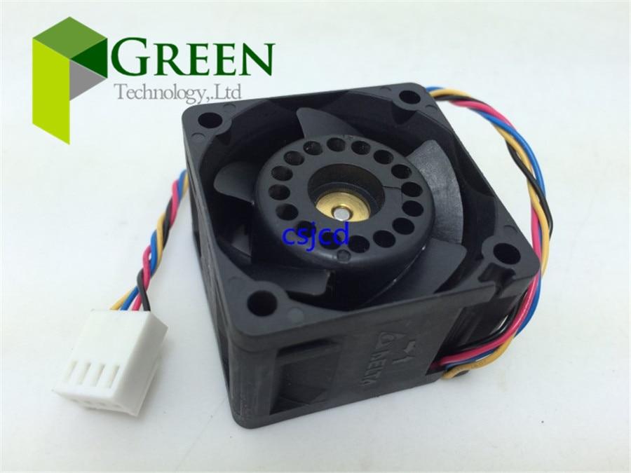 Вентилятор для сервера Delta, 12 В, 4028, 40 мм, 4 см, 40*40*28 мм, 1U, 2U, Большой мощный вентилятор охлаждения, FFB0412UHN-BC2E с 4 контактами