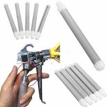 5Pcs Airless Spray 60 Mesh Airless Pistool Filter Elementen Accesoires Voor Wagner Rvs Chemische Industrie Water Tap Wasmachine