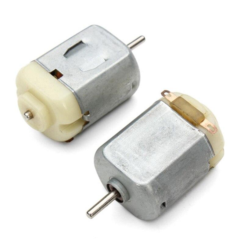 1/2/5 Uds DC Motor 3V 16500RPM 130 Mini Motor de juguete Micro Motor para bricolaje juguetes aficiones coche pequeño