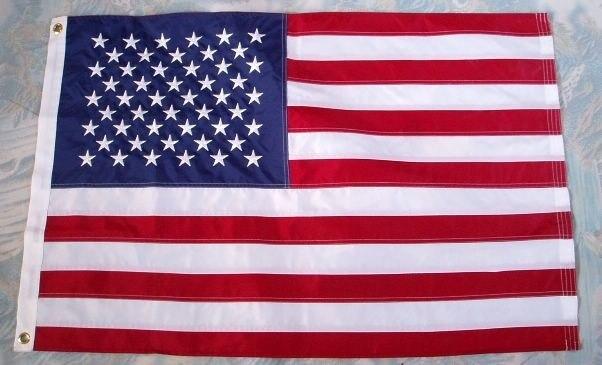 KAFNIK... bandera Americana bordada 3x5 pies/2x3ft/4x6ft Thicken Oxford Nylon Estados Unidos bandera Slap-Up hogar colgante decorativo banderas